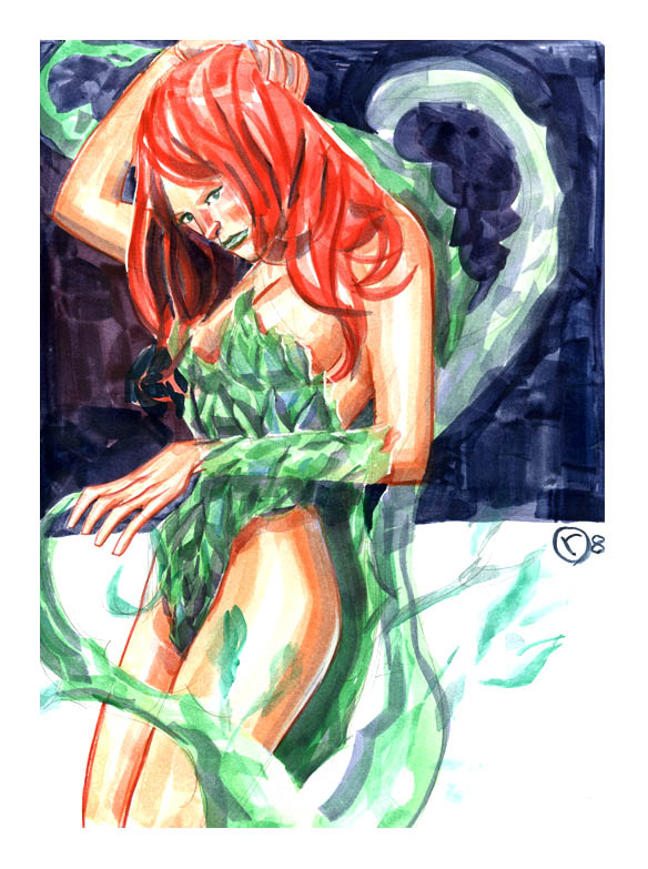 poison ivy comic. poison ivy comic character.