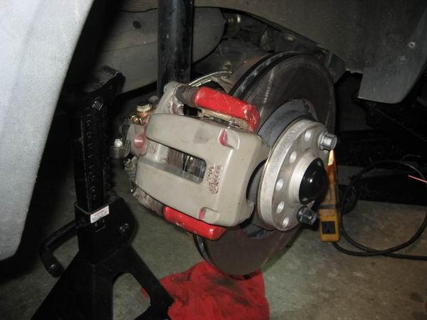 Vwvortex Com Front Amp Rear Big Brakes On A Mk2 Jetta 12